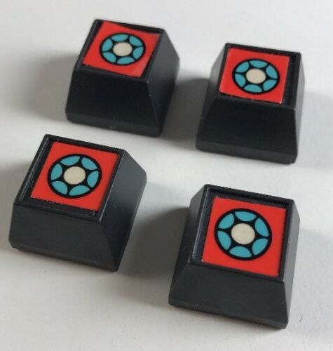 Primary image for Vintage ZAXXON Board Game Lot of 4 Missile Silos Replacement Pieces Parts