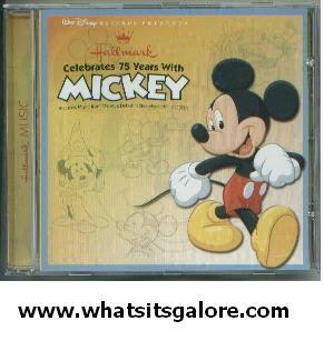 Hallmark Celebrates 75 Years with Mickey Mouse CD BRAND NEW