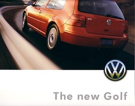 1999 Volkswagen GOLF sales brochure catalog US 99 VW GTI VR6 - $9.00