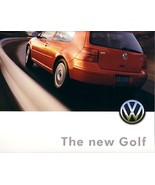 1999 Volkswagen GOLF sales brochure catalog US 99 VW GTI VR6 - $10.00