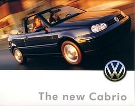 1999 Volkswagen CABRIO brochure catalog US 99 VW Cabriolet - $9.00