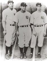 Joe Dimaggio Lou Gehrig B Dickey 8X10 Photo New York Yankees Ny Baseball Picture - $3.91