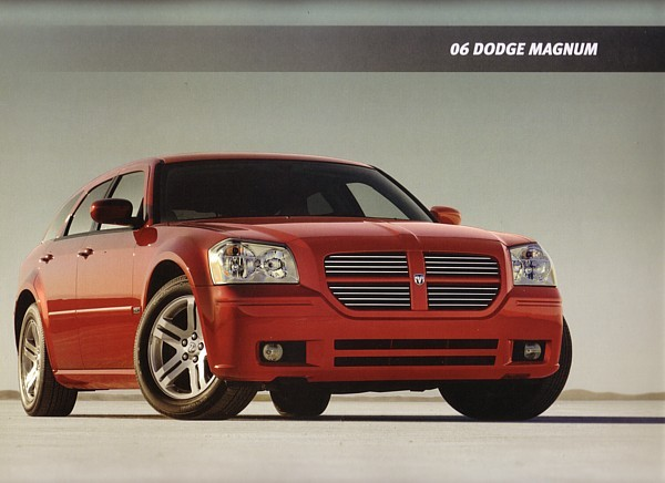 2006 Dodge MAGNUM sales brochure catalog 06 SRT8 HEMI