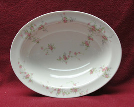 "Theodore Haviland New York China - Pink Spray Pattern - 9.5"" Oval Serving Bowl - $24.95"