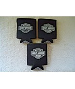 """Lot Of 3 """" NWOT """" Harley Davidson Motor Cycles Cooler Cups """" GREAT COLLE... - $14.99"""
