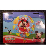 *MICKEY MOUSE*XTRALIFE LARGE SINGING BIRTHDAY FOIL BALLOON*N - $11.99