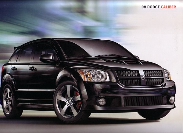 2008 Dodge CALIBER sales brochure catalog 08 SRT4 R/T - $6.00