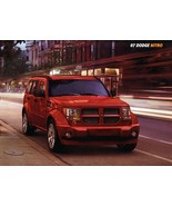 2007 Dodge NITRO sales brochure catalog 07 SLT R/T - $6.00