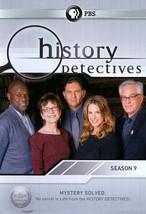 HISTORY DETECTIVES: SEASON 9 NEW DVD - $70.50