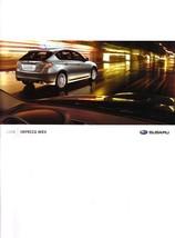 2008 Subaru IMPREZA WRX sales brochure catalog US 08 - $10.00