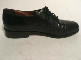 Bostonian Mens Black Leather Lace Up Dress Shoes sz 9M - $32.73