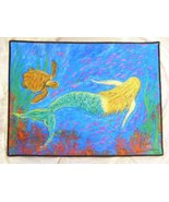 Stephanie Kiker Mermaid Dance 18 X 24 inches Door or Floor Mat - $49.99