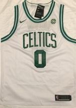 New NBA Jayson Tatum Boston Celtics Away Games White Jersey ,Stitched Si... - $44.00