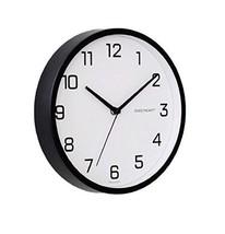 Sweetheart Non Ticking Silent Metal220 Shine Style Wall Clock Quartz Decorative