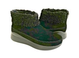Ugg Montrose Black Suede Ankle Zipper Sneaker Shoe Us 9 / Eu 40 / Uk 7 - $83.22