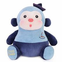 PANDA SUPERSTORE Baby Toy Lovely Mixed Colors Monkey Plush Toy Baby Doll