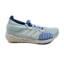 adidas PulseBOOST HD W Running Shoes 9 Low Blue Silver Gray EF1358 Womens - $84.95