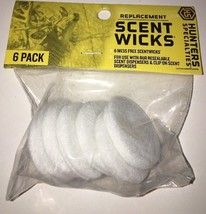 Replacement Scent Wicks for use with Scent Dispenser Products, Hunters S... - $6.91