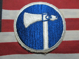 Us Army Wwii WW2 Us ARMY19th Corps Color Shoulder Ssi Patch c/e - $7.00