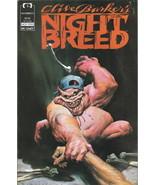 Clive Barker's Night Breed Comic Book #6 Epic Comics 1990 NEAR MINT NEW ... - $3.00