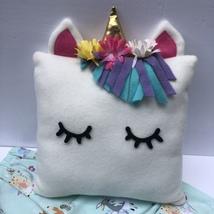 Girls PJ's & Unicorn Pillow- Display Sample - $18.95