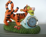 "Disney Winnie the Pooh ""Tigger"" Miniature Battery Clock"