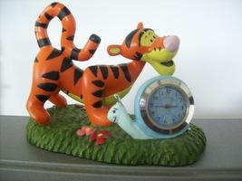 "Disney Winnie the Pooh ""Tigger"" Miniature Battery Clock  - $20.00"