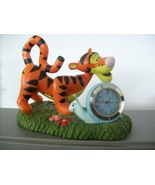 "Disney Winnie the Pooh ""Tigger"" Miniature Battery Clock  - $20.00"
