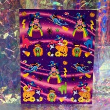 VHTF MINT Vintage Lisa Frank Pigarella Fortune Teller Halloween Stickers S319 image 1