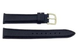 Hadley Roma MS724 17mm Regular Black Stitched Genuine Pigskin Men's... SHIPSFREE - $12.97