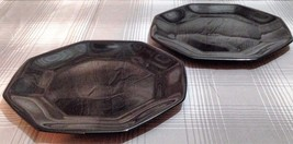 Arcoroc Octime Black Salad Plate (Rounded Edges) -Set of 2 - $14.70