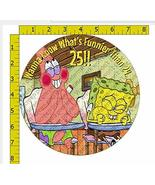 "8"" Spongebob Wanna Know What's Funnier than 24 Image Edible Frosting Cak... - $10.50"