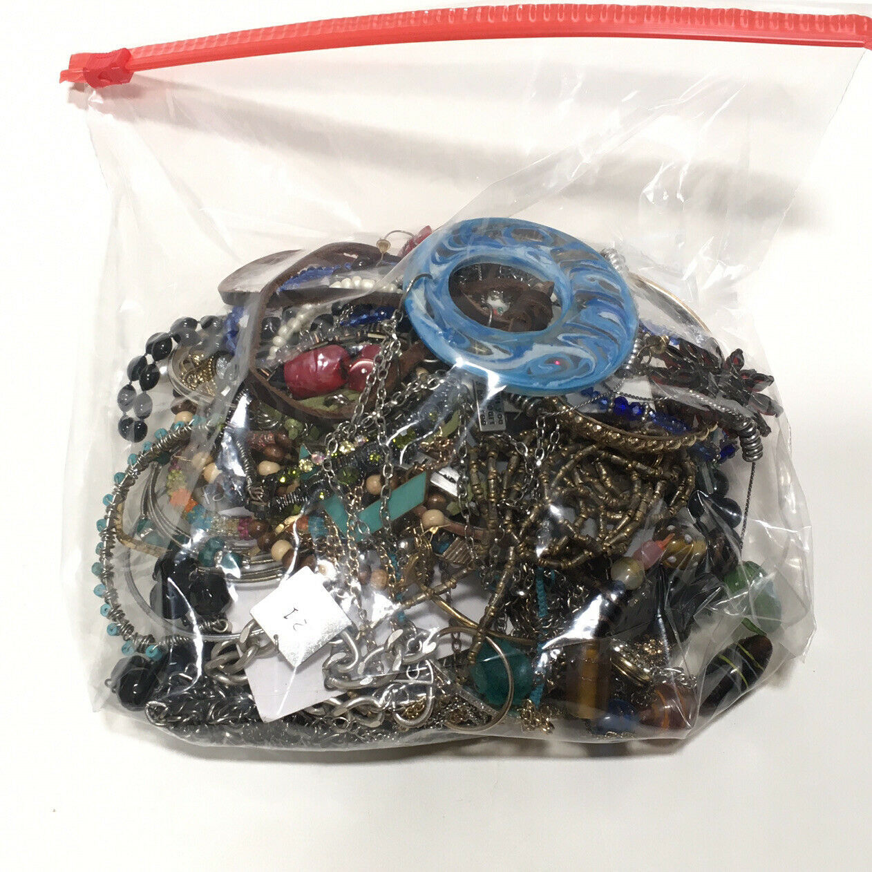 Primary image for Jewelry Lot 2 Pounds Vintage To Modern Costume Sorted Wearable #5
