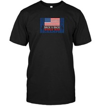 America USA back to back World War Champions patriotic shirt - $17.99+