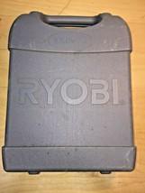 Ryobi Drill Cordless Case EMPTY Box Hardside Storage Hard Plastic Gray - $12.50