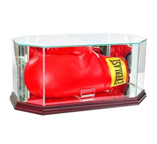 Perfect Cases BOXOCT-C Octagon Glass Full Size Boxing Glove Display Case44; Cher