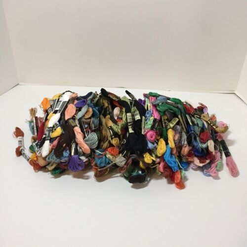 245 Skeins DMC Embroidery Floss Lot