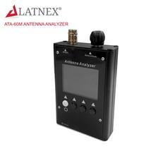 LATNEX ATA-60M 0.5-60MHz Colour Graphic Antenna Analyzer for Walkie Talkie Radio - $169.99