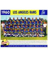 NFL 1960 Los Angeles Rams Color Team Picture with Names 8 X 10 Photo Pic - $5.99