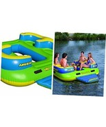 Airhead Inflatable Islands for 4-6 People Chill Lounge 4 Person Island - $359.65
