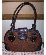 Rosetti Tapestry Satchel Bowler Bag Purse Handbag Tote  - $19.97