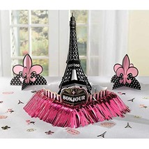 amscan Day in Paris Table Decorating Kit, One Size, Multicolor - $9.80