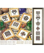 WORDS TO LIVE BY  CROSS STITCH  PATTERN ONLY    PY - EUS - $6.39