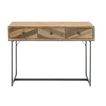 Excellent Wood Metal Console Table - $257.40
