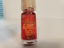 Bath & Body Works White Barn fragrance oil discontinued spiced apple rap... - $24.74