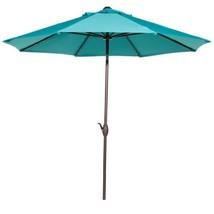 9 ft. Outdoor Table Market Umbrella with Push Button Tilt/Crank Patio Um... - $104.54