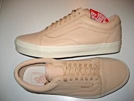 596f1a7c56 Vans Mens Old Skool DX Veggie Tan Leather Skate shoes Size 12 VN0A32GJLU.