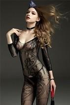 lingerie pizzo body completo donne stampa floreale trasparente SM FOULARD CALDO - $20.21