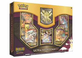 Dragon Majesty Ultra Necrozma GX Figure Collection Box 4 Booster Packs - $33.95