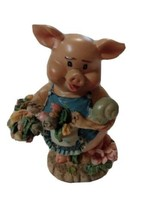 Cute PIG Plastic or Resin  figurine~farm~decor~collectable~detailed - $6.83